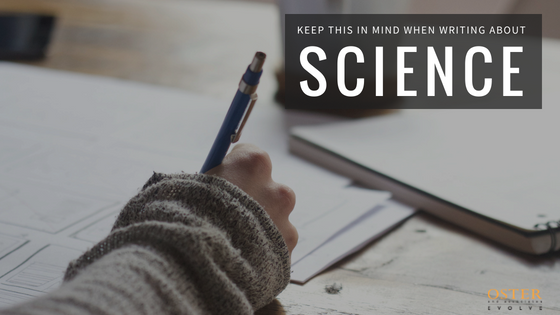 Keep This in Mind When Writing About Science