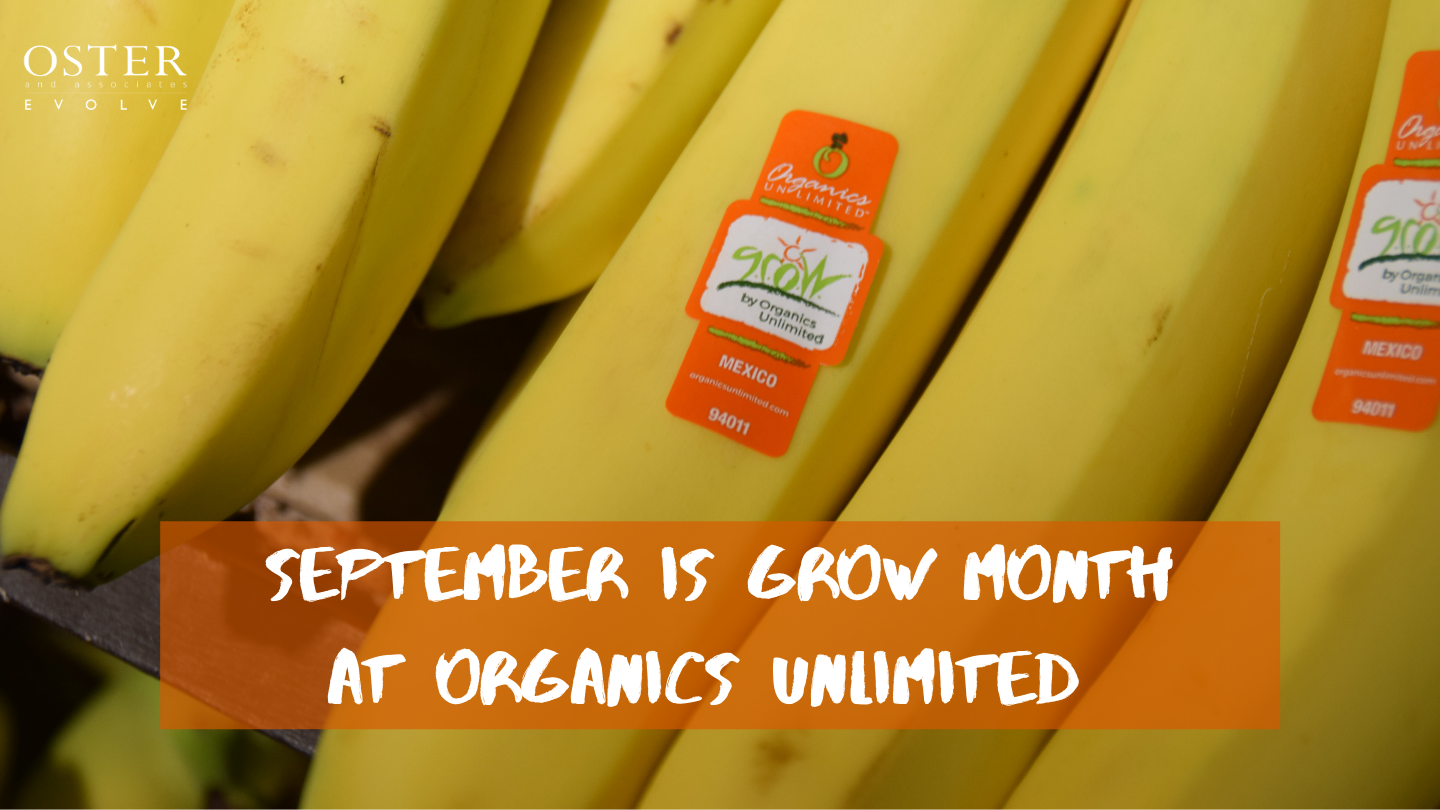 September is GROW Month at Organics Unlimited