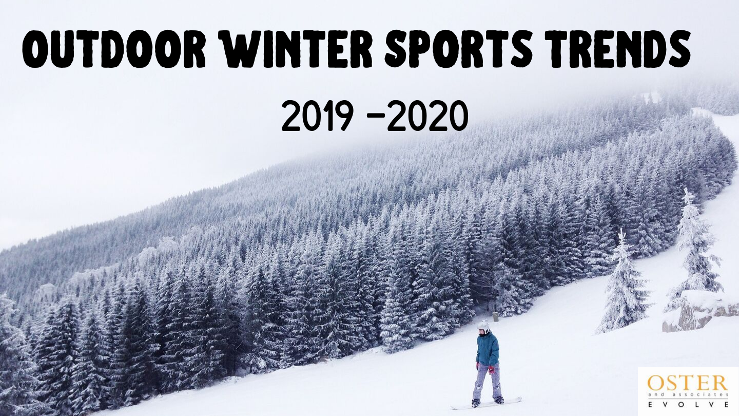 Outdoor Winter Sports Trends 2019 - 2020
