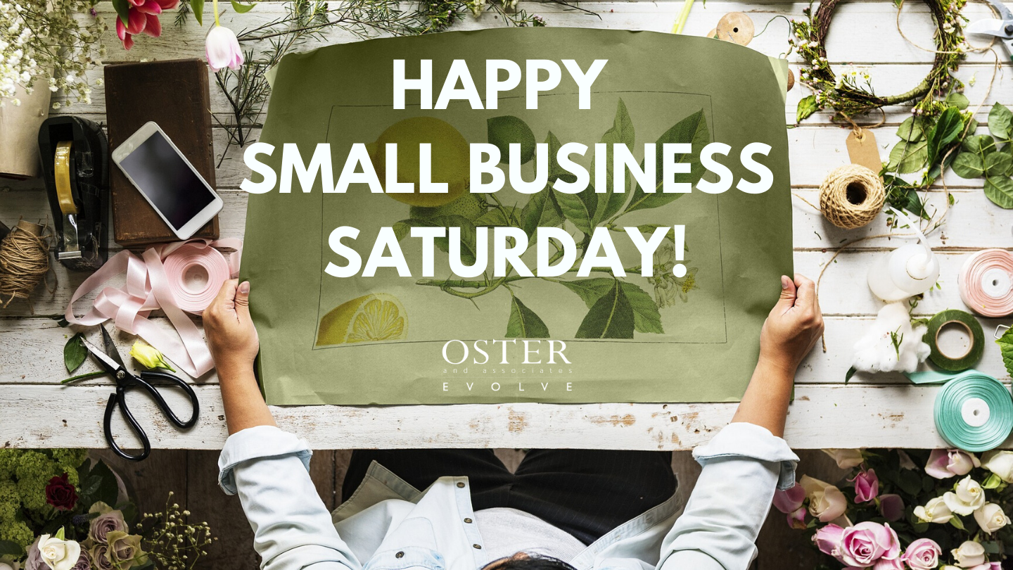 Happy Small Business Saturday!