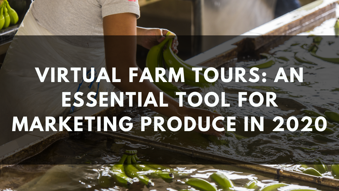 Virtual Farm Tours: An Essential Tool for Marketing Produce in 2020